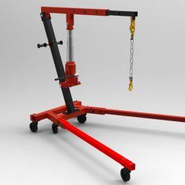 """Blocos FP 3D:  Macaco Hidráulico Tipo """"Girafa"""" M2"""