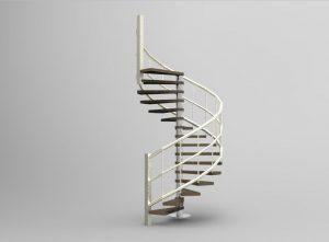 Blocos FP 3D:  Escada Espiral 3D