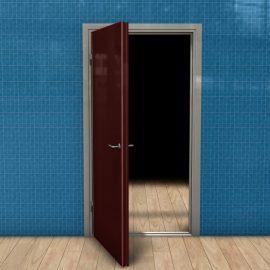 Blocos FP 3D:  Porta Residencial 3 3D