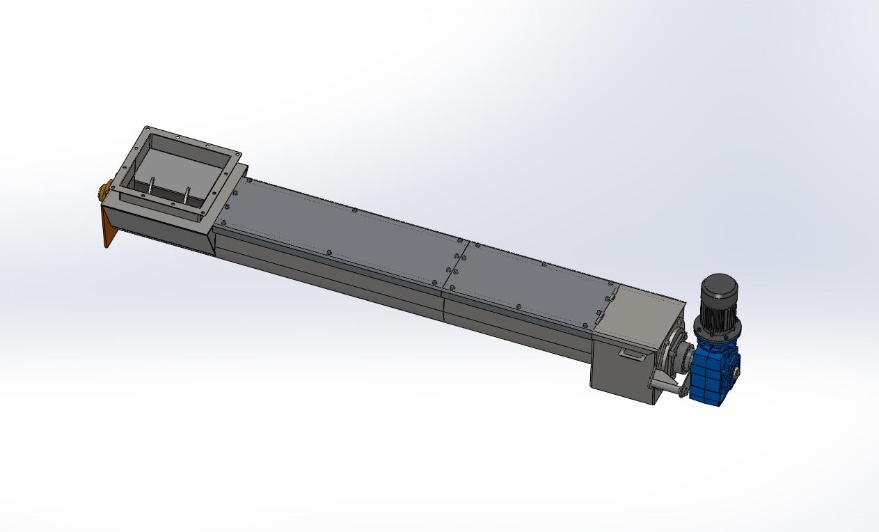 Blocos FP 3D:  Rosca Transportadora 2 3D