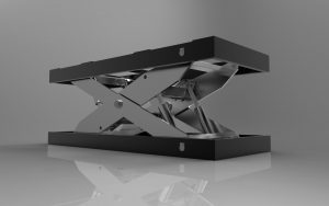 Blocos FP 3D:  Plataforma Hidráulica de Elevação
