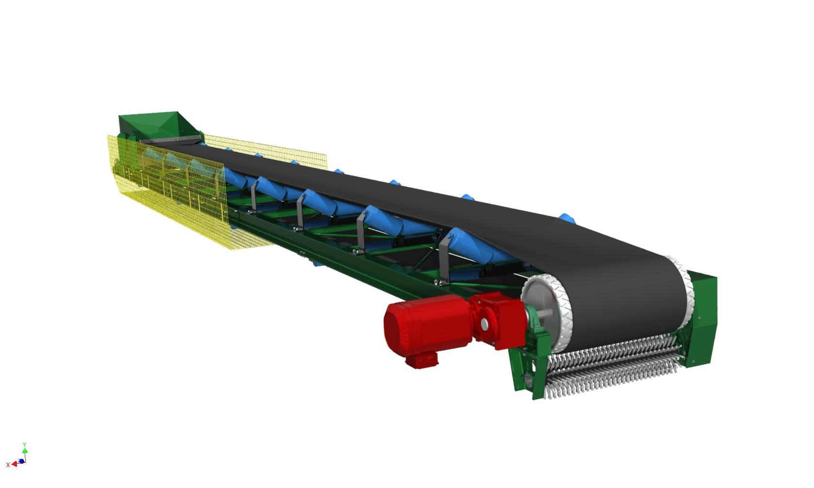 Blocos FP 3D:  Correia Transportadora 24″
