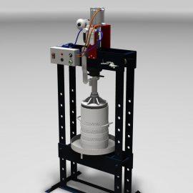 Blocos FP 3D:  Prensa Pneumática Semi-Automática