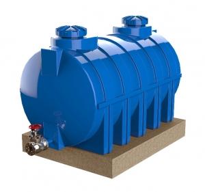Blocos FP: Reservatório de água horizontal