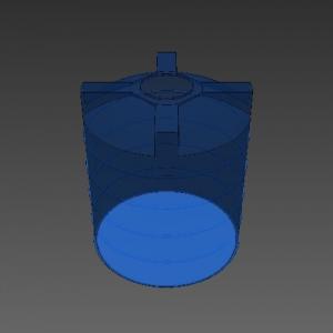 Blocos FP: Caixa da Água Vertical
